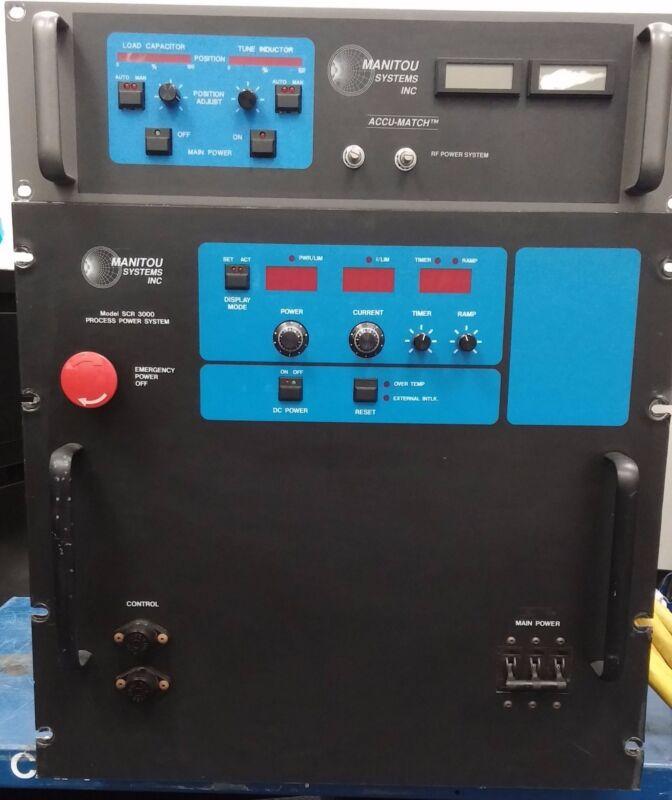 Manitou Atk Controller Rf Power Sys, Scr-3000 Rf Generator