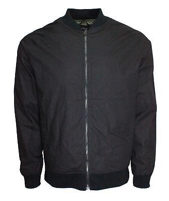Men's lightweight Bomber Harrington Jacket slim fit -
