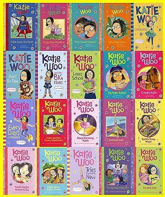 Katie Woo Series Collection Set Books 21-40 Paperback By Fran Manushkin New!](Katie Woo Books)