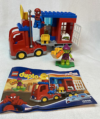 LEGO Duplo 10608 Spider-Man Spider Truck Adventure - Green Goblin NO BOX 100%