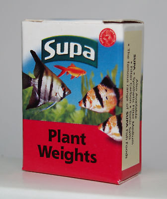 Supa Plant Weights, Weights for Aquarium & Fish Tank Plants 10 count