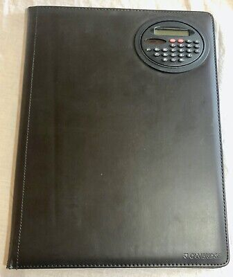 Mead Cambridge Portfolio Folder Business With Calculator Bd0497