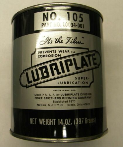 Lubriplate No.105 Grease 14 oz can. L0034-001