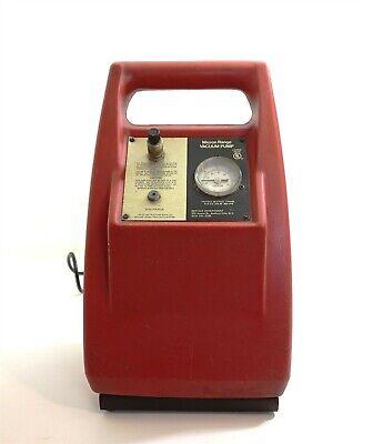 Micron Range Vacuum Pump 0 - 30 Hg 115 V 1 Ph Fla 2.0 Lra 20 .650 Cfm 60 Cy