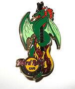 Hard Rock Cafe Dragon Guitar Pins