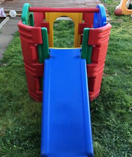 Outdoor Activity Play Gym With Steps/Slides and Bar