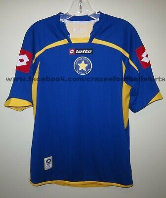 mint vintage ASTERAS TRIPOLIS FC 2010-12 away shirt Lotto M GB38/40