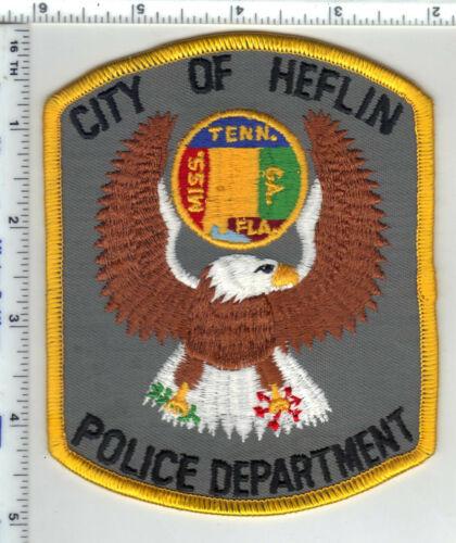 Heflin Police (Alabama) 4th Issue Shoulder Patch