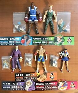 Street Fighter Video Game Figures