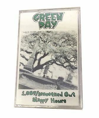 Green Day 1039 Smoothed Out Slappy Hours Cassette Tape Lookout! 22 Sealed New