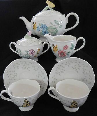 Lenox Butterfly Meadow 7 Piece - Lenox Butterfly Meadow 7 Piece Set of Porcelain New