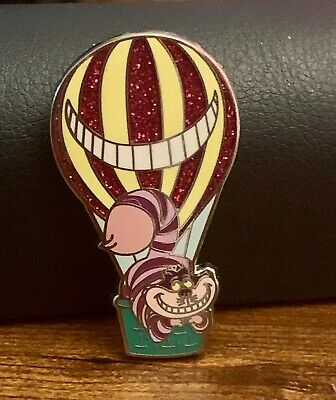Disney Hot Air Balloons Mystery Adventure Is Out There! - Cheshire Cat Pin