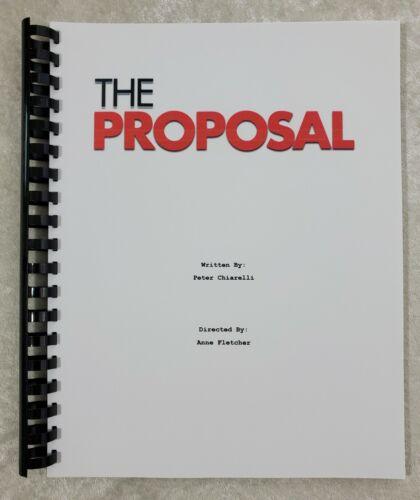 The Proposal Movie Script Reprint Full Script 2009 Film Sandra Bullock
