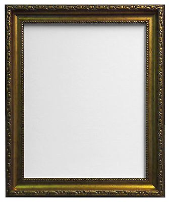 Shabby Chic Distressed White, White, Black Gold & Silver Picture Frames AP-3025