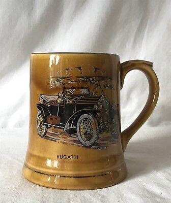 Wade Veteran Cars Series 5 No. 14 Car Series Mug - 1914 Bugatti 9cm Tall