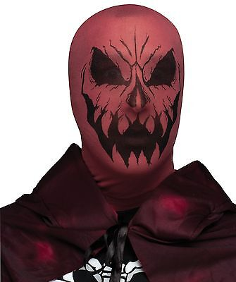 DEVIL DEMON HALLOWEEN Costume Pullover Stocking Mask - Lightweight ](Halloween Demon Costume)