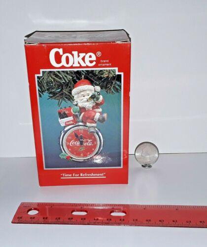 Enesco Coca-Cola Brand Ornaments Coke - Time For Refreshment # 111872