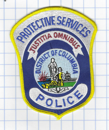 Police Patch -Protective Services - District of Columbia