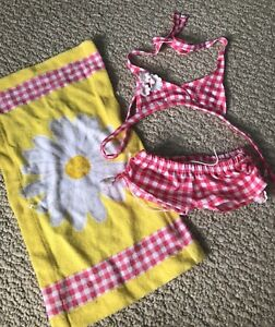 Build a bear bathing suit and towel