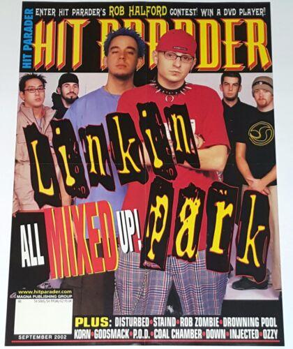 LINKIN PARK VINTAGE POSTER HIT PARADER Metal Music DJ Rap Indie lp cd 45 t-shirt