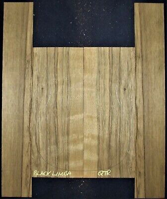 Guitar Luthier Tonewood BLACK LIMBA Acoustic backs sides SET back side