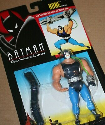 """BANE Batman Animated Series 1994 Kenner 5.5"""" ACTION FIGURE on SEALED CARD, used for sale  Shipping to India"""