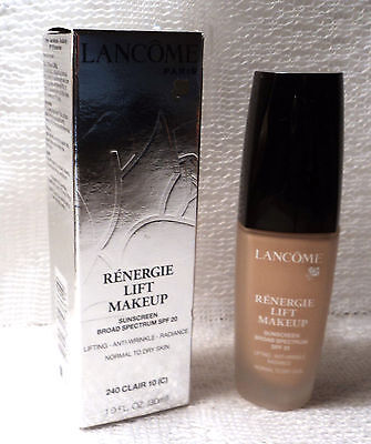 LANCOME RENERGIE LIFT MAKEUP - SPF 20 - 240 CLAIR 10 (C) - 1.0 oz.