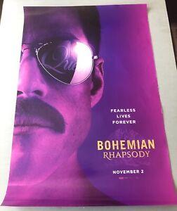 Bohemian Rhapsody Movie Theatre Poster