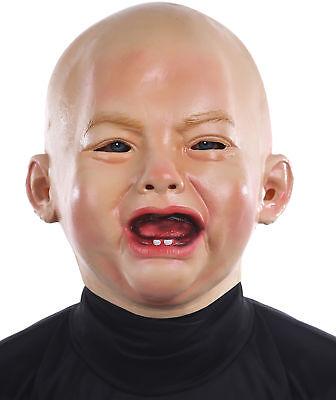 Crying Baby Mask Bald Infant Funny Halloween](Crying Baby Mask Halloween)