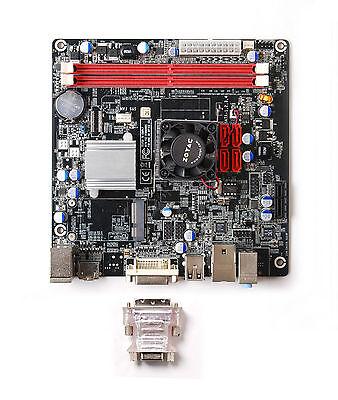 New ZOTAC IONITX-G-E Intel Atom 330 NVIDIA ION Mini ITX Motherboard/CPU Combo