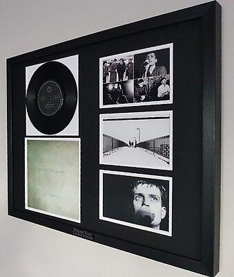 Joy Division Framed ORIGINAL Rare Love Will Tear Us Apart Vinyl Ian Curtis