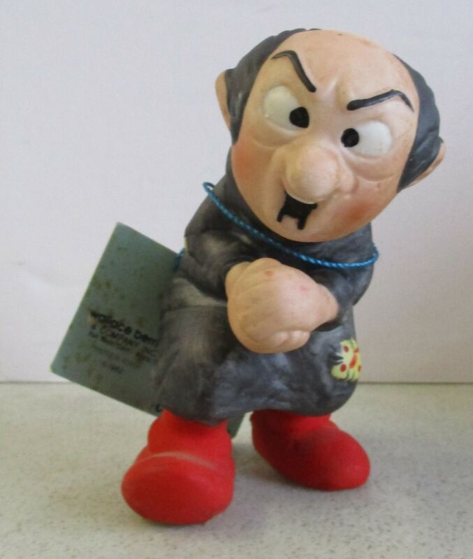 VINTAGE 1982 WALLACE BERRIE THE SMURFS GARAMEL CERAMIC COLLECTIBLE FIGURINE