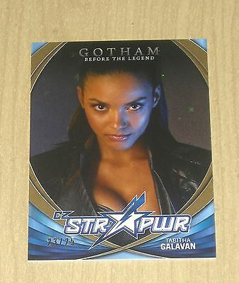 2017 Cryptozoic Gotham sea 2 character bio STR PWR GOLD Tabitha Galavan CB10 /25
