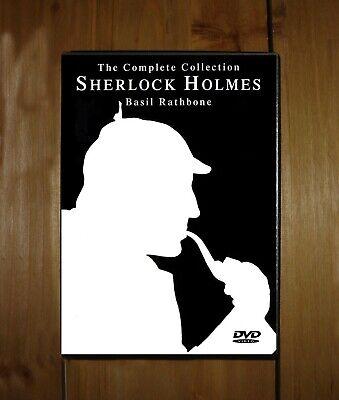 The Sherlock Holmes Collection - (1939) Basil Rathbone Nigel Bruce 5 DVDs B&W