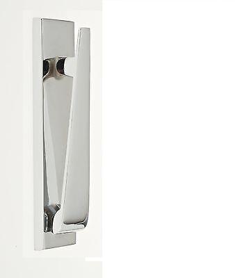 Ponytail Door Knocker, Urn knocker Heavy Duty, Contemporary Style, CHROME