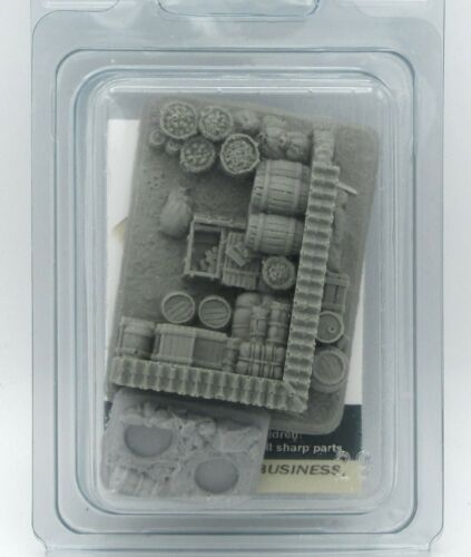 Baueda 15A12CB Food Stash + Random Small Base (15mm) WWII Urban Terrain Scenery
