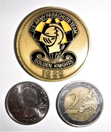 Challenge Coin - US Army - Parachute Team - Golden Knights - 1959