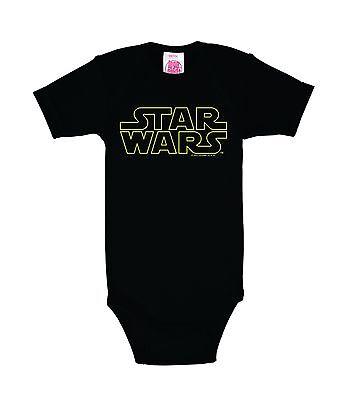 LOGOSHIRT - Star Wars - Schriftzug - Logo - Baby Star Wars
