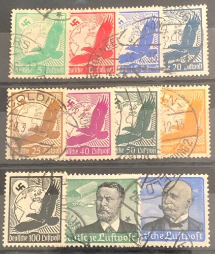 Germany Reich #C46 - C56 Used Cat. $76