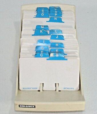 Large Vintage Rolodex Desk Card Organizer 9 Crafts Altered Art