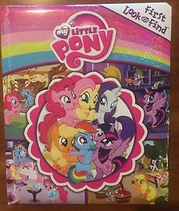 My Little Pony look and find book