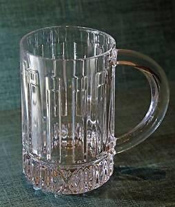 Tiffany & Co Atlas crystal beer mug North Strathfield Canada Bay Area Preview