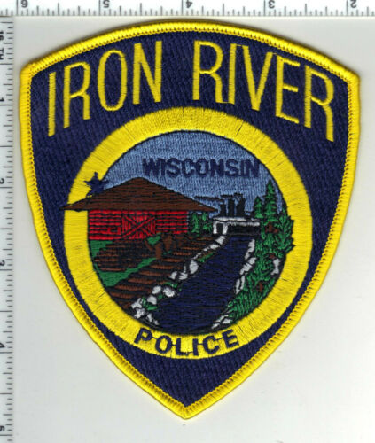 Iron River Police (Wisconsin) 1st Issue Shoulder Patch