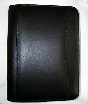 Franklin Covey Faux Leather Compact Ziparound Planner Binder