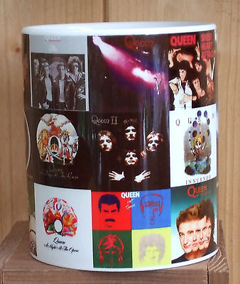 Queen Album Covers Classic rock mug
