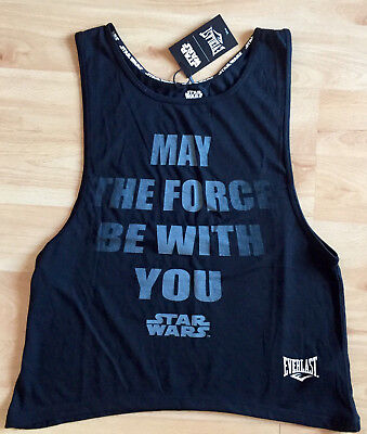 NEU sexy Tank Top + EVERLAST + XS + STAR WARS + Sport + Fitness + Training + RAR