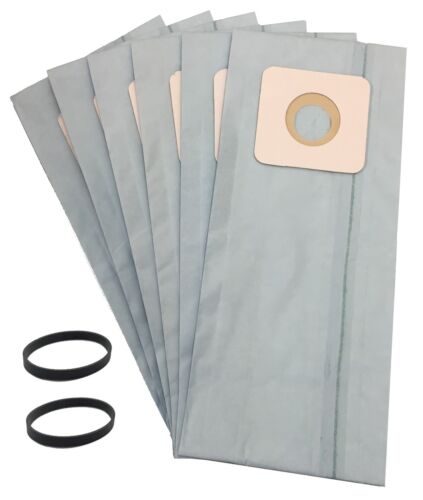 6 Vacuum Bags & 2 Belts for Simplicity 5000, 6000 Uprights T