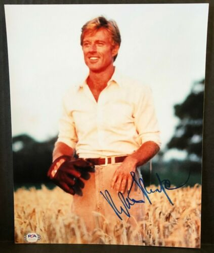 """ROBERT REDFORD """"THE NATURAL""""  SIGNED 8x10 PHOTO AUTHENTIC PSA DNA REPRINT"""