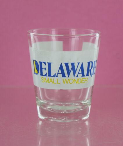 Shot Glass - Delaware Small Wonder