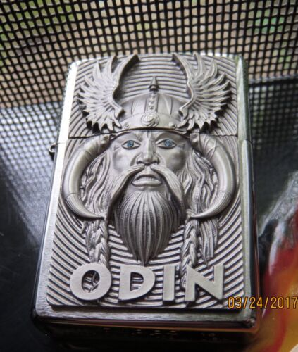 ZIPPO LIMITED EDITION  THE VIKING GOD- RARE COLLECTABLE LIGH